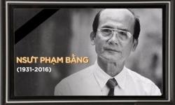 NSƯT Phạm Bằng qua đời ở tuổi 85 vì bạo bệnh